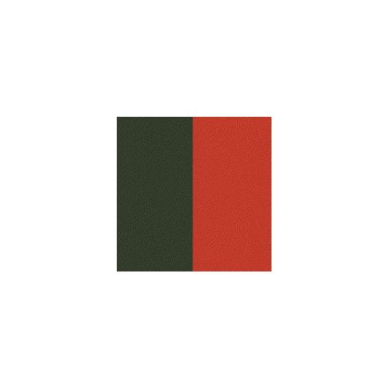 Cuir pour Manchette Brique/Kaki 14 mm