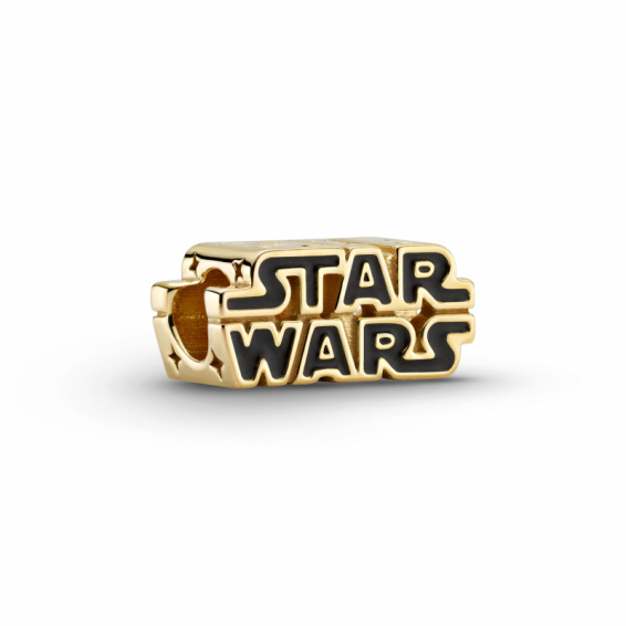 Charm Logo Star Wars 3D Brillant