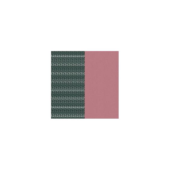 Cuir pour Manchette Mousse Dorée/Vieux Rose 25 mm