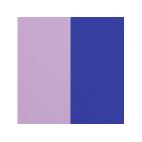 Cuir pour Manchette Lilas Pastel/Bleu Roi 8 mm