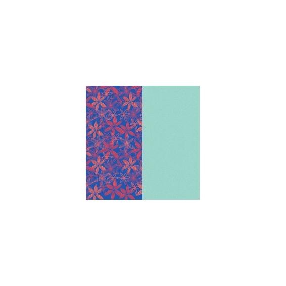 Cuir pour Manchette Motif Fleurs des Bois/Nimbus 14 mm