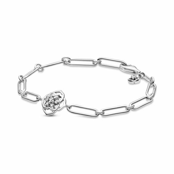 Bracelet à Maillons Pétales de Rose