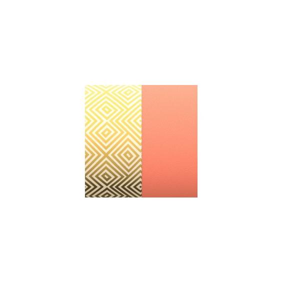 Cuir pour Manchette Motif Blush/Rubik 8 mm