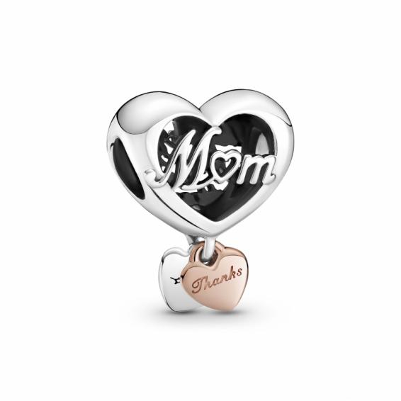 Charm Coeur Thank You Mum (Merci Maman)
