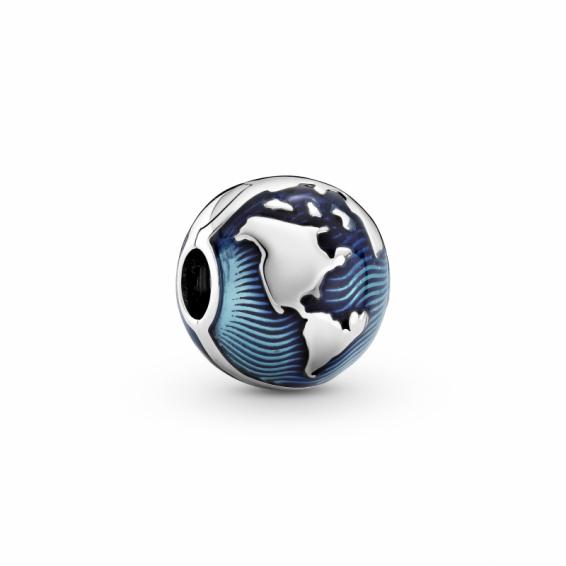 Clip Globe Bleu