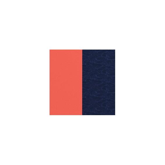 Simili Réversible pour Pendentif Corail/Marine Métalisé 16 mm