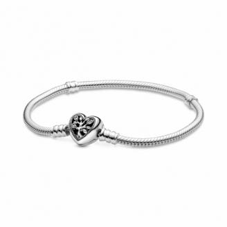 Bracelet Maille Serpent Fermoir Arbre de Vie