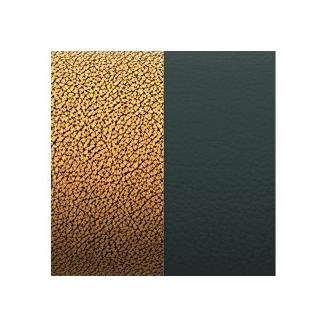 Cuir pour Manchette Cuivre/Vert Foncé 14 mm