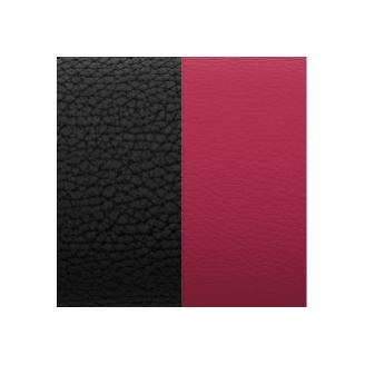 Cuir pour Manchette Noir/Magenta 14 mm
