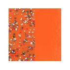 Vinyle de Bague Paillettes Multicolores / Tangerine 12 mm
