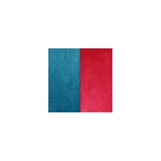 Vinyle de Bague 12 mm Bleu Pétrole / Framboise