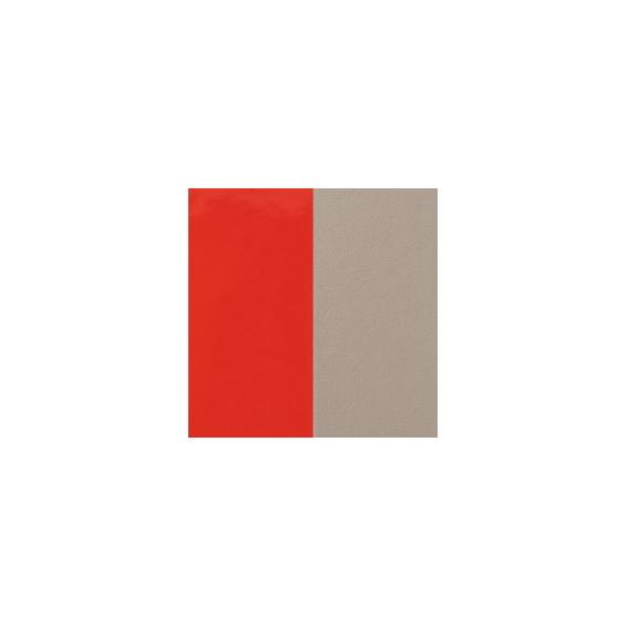 Cuir pour Manchette Corail Vernis / Taupe 40 mm