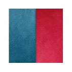 Cuir pour Manchette Bleu/Framboise 40 mm