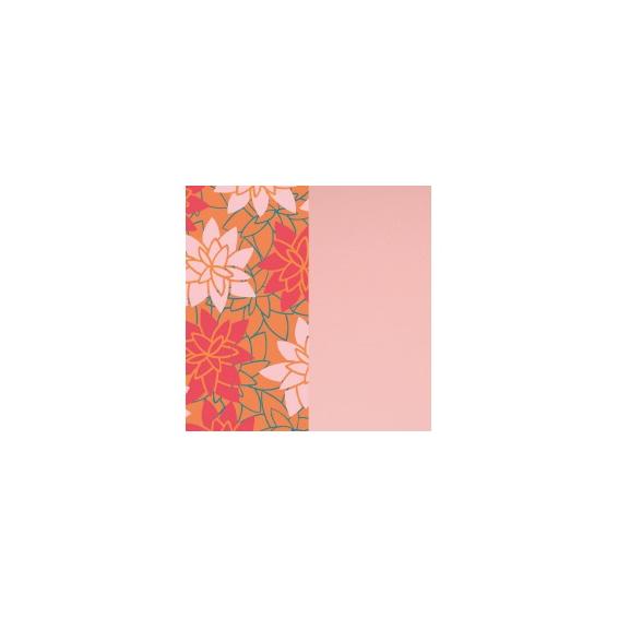 Cuir pour Manchette Nenuphar / Rose Clair 40 mm