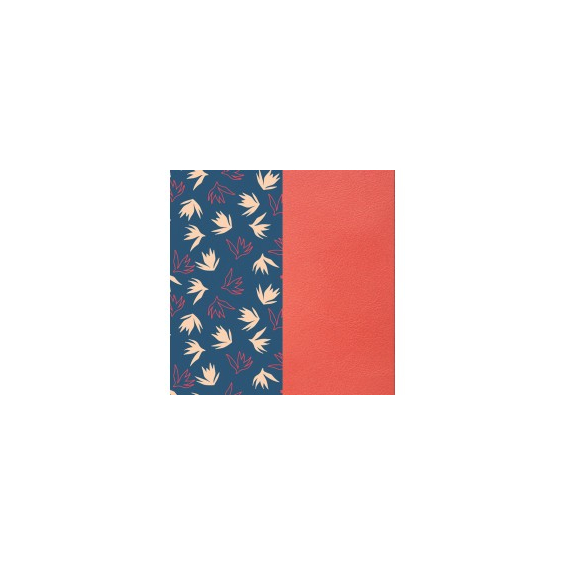 Cuir pour Manchette Dandelion / Corail 40 mm