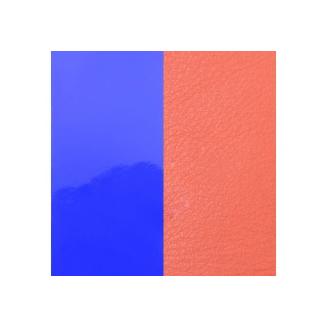 Cuir pour Pendentif Rond 16 mm Violet Vernis / Saumon