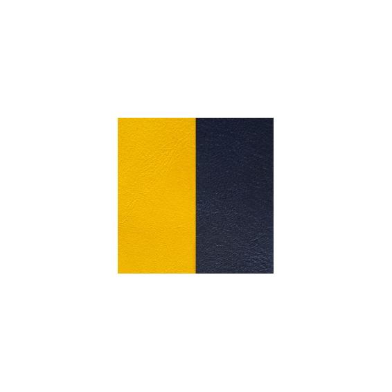 Cuir pour Pendentif Rond Moyen 25mm Sun / Marine