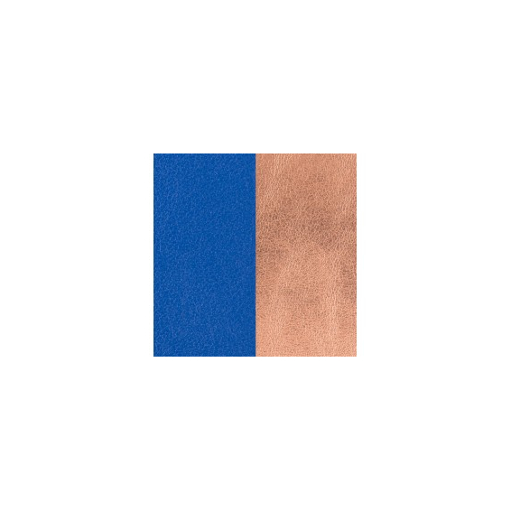 Cuir pour Manchette Bleu Outremer / Rose Sirène 14 mm