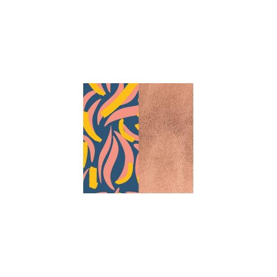 Cuir pour Manchette Perroquet / Rose Sirène 14 mm