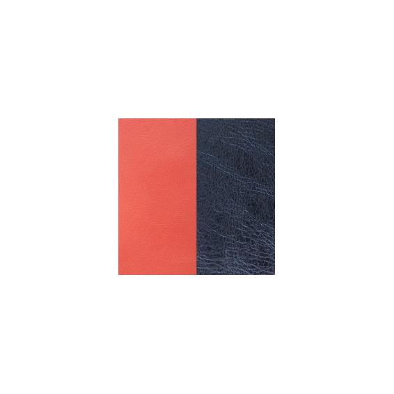 Cuir pour Manchette Corail / Marine Métallisé 25 mm