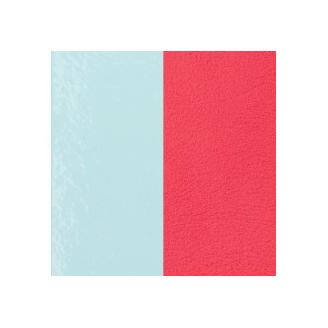 Cuir pour Manchette Bleu Clair / Grenadine 25 mm
