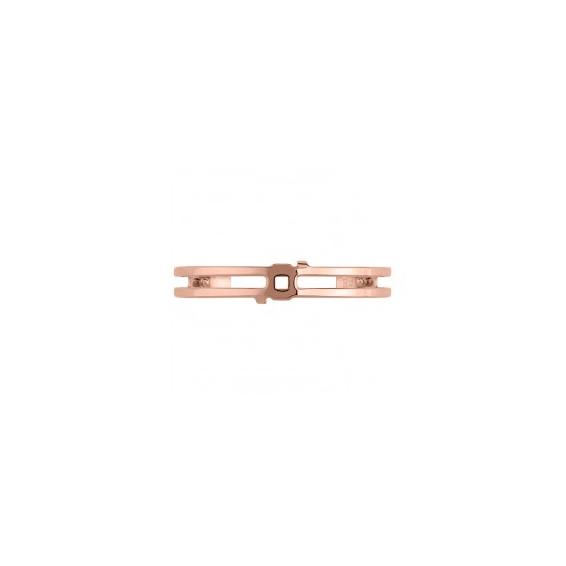 """Manchette Couture """"Structure"""" Finition Rosée 8 mm"""