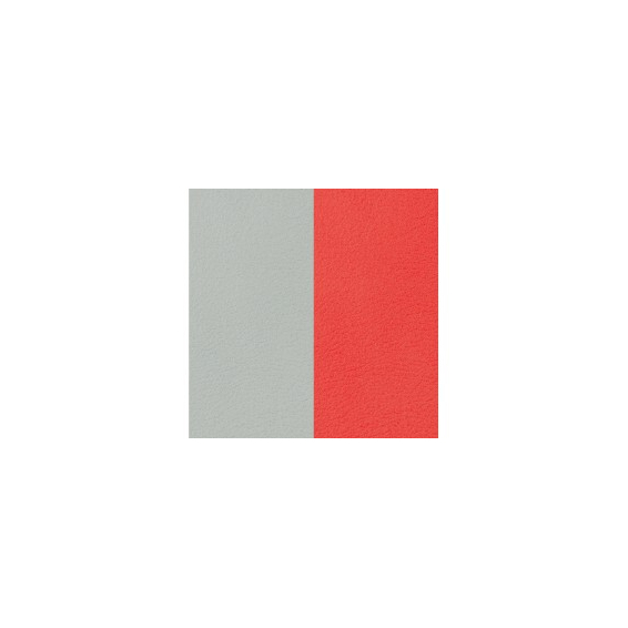 Cuir pour Manchette Nuage / Coquelicot 25 mm