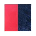 Cuir pour Manchette Corail / Bleu Métallisé 8 mm