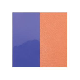 Cuir pour Manchette Violet Vernis / Saumon 8 mm