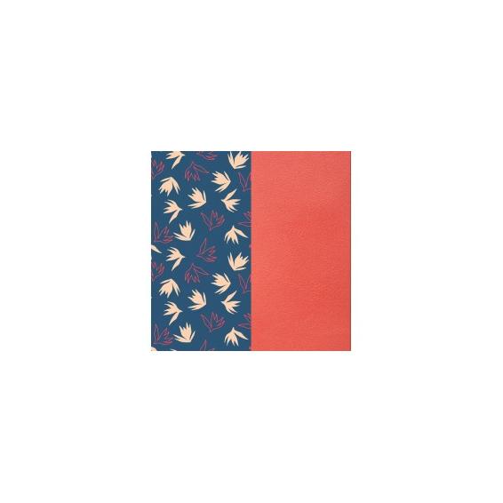 Cuir pour Manchette Dandelion / Corail 25 mm