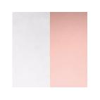 Vinyles de Boucles d'Oreilles Gris Clair / Rose Clair 16 mm