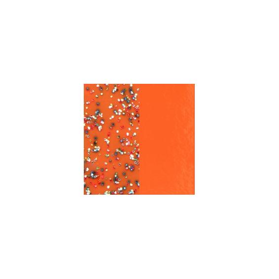Vinyles pour Boucles d'Oreilles Paillettes Multicolores / Tangerine 30 mm