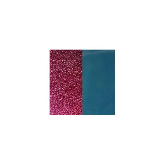 Vinyles pour Boucles d'Oreilles Bleu Jean / Bordeaux 43 mm
