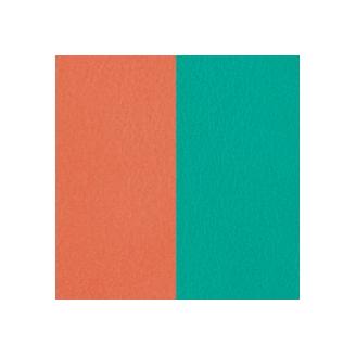Vinyles pour Boucles d'Oreilles Terracotta / Bleu Lagon 43 mm