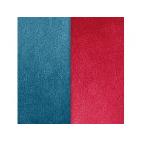 Vinyles pour Boucles d'Oreilles Bleu Pétrole / Framboise 43 mm