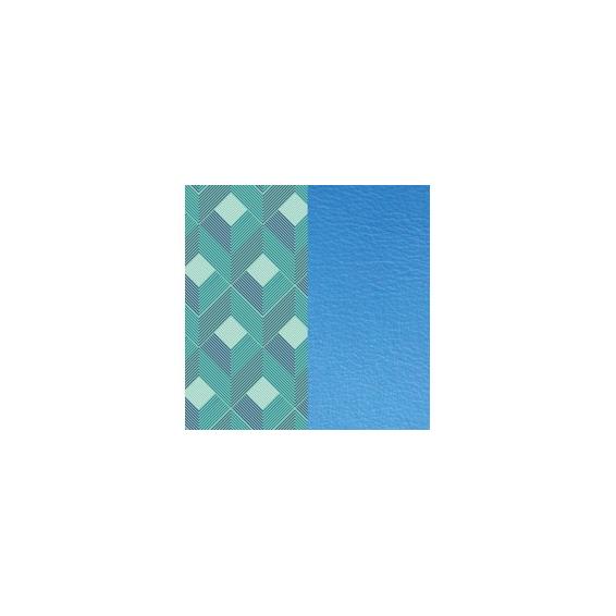 Cuir pour Manchette Rythme / Bleuet 25 mm