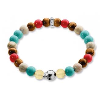 Bracelet Tête de Mort Multicolore