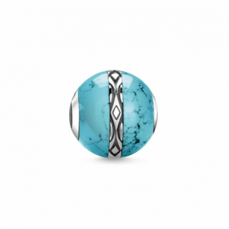 Karma Bead Ornement Turquoise