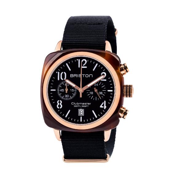 Montre Clubmaster Classic Chronographe Acétate gold