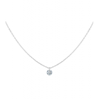 Collier 360° - Diamant Solitaire