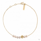 Bracelet Rosary Diamond Moon