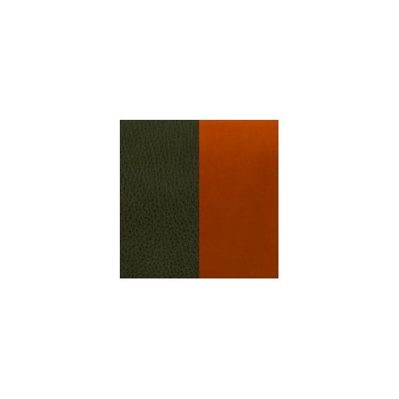 Cuir pour Manchette Kaki / Cognac 14 mm