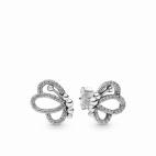 Boucles d'Oreilles Papillons Ajourés