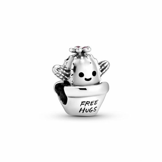 Charm Cactus Free Hugs