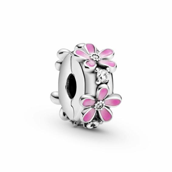 Clip Marguerites Roses