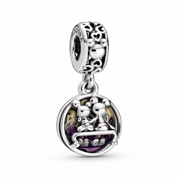 Charm Pendentif Mickey & Minnie, Happily Ever After
