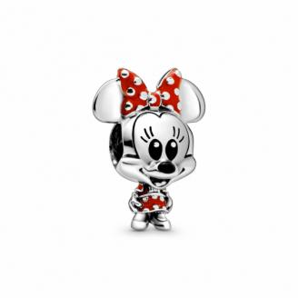 Charm Disney Minnie robe à Pois et Noeud