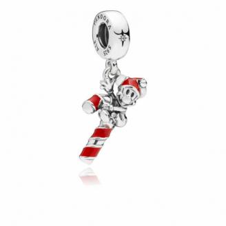 Charm Disney Sucre d'Orge de Mickey Père Noël 797500EN09