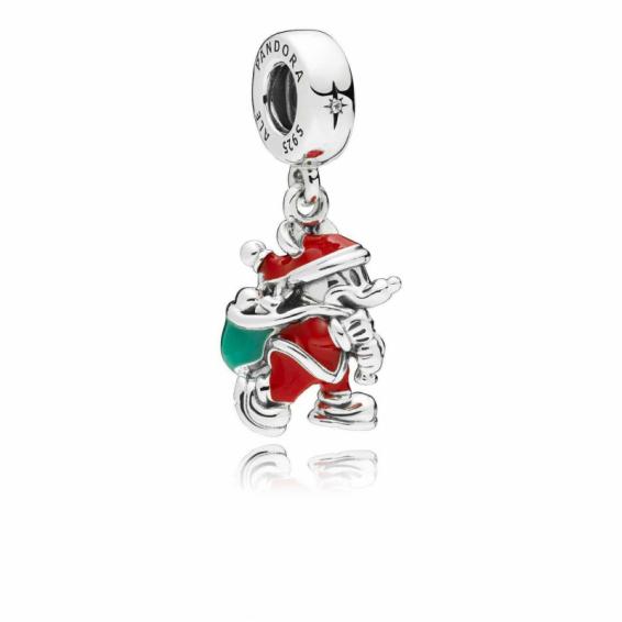 Charm Disney Mickey Père Noël et sa Hotte