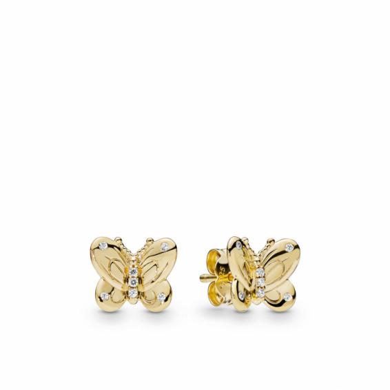 Clous d'Oreilles Papillon Shine